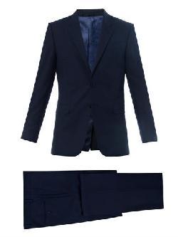 PAUL SMITH LONDON  - Byard single-breasted wool suit
