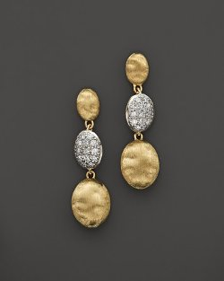 Marco Bicego  - Diamond Siviglia Earrings