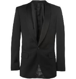 J.Crew    - Ludlow Slim-Fit Shawl-Collar Wool Tuxedo