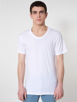 American Apparel - Sheer Jersey Loose T-Shirt