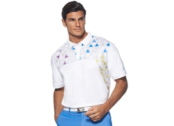Callaway  - Printed Triangle Polo Shirt