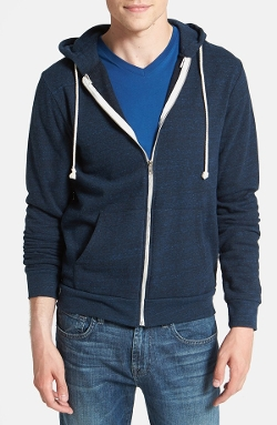 Threads for Thought  - Trim Fit Heathered Hoodie