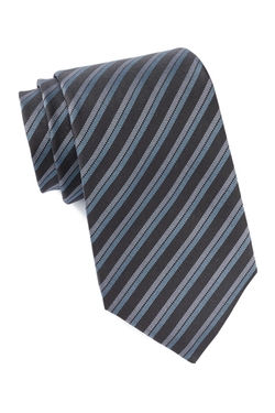 John Varvatos - Silk Double Track Stripe Tie