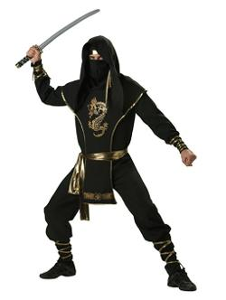 SummitFashions - Mens Theatre Costumes Ninja Warrior Costume