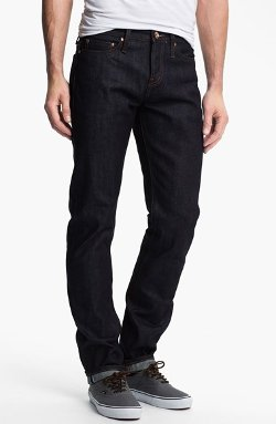 The Unbranded Brand - Tapered Fit Raw Selvedge Jeans