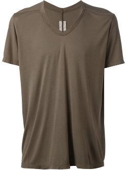 Rick Owens - V-neck T-shirt
