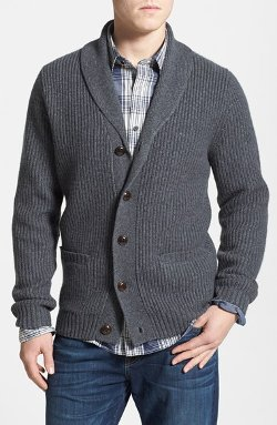 Wallin & Bros. - Shawl Collar Cardigan