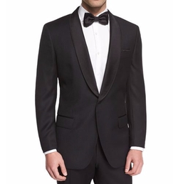 Boss Hugo Boss - Satin Shawl Collar Tuxedo Jacket