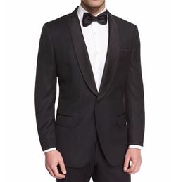 Boss Hugo Boss - Satin Shawl Collar Tuxedo Jacket