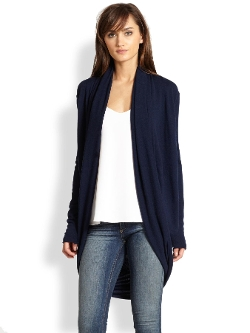 Alice + Olivia  - Wool & Cashmere Circle Cardigan