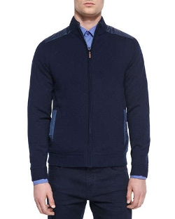 Boss Hugo Boss - Reversible Full-Zip Jacket