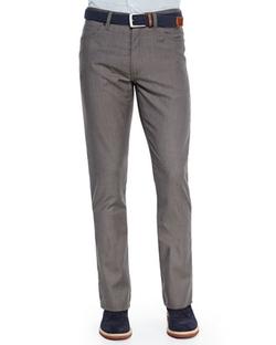 Ermenegildo Zegna - Wool Five-Pocket Trousers