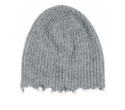 MSGM - Distressed Wool Blend Beanie Hat