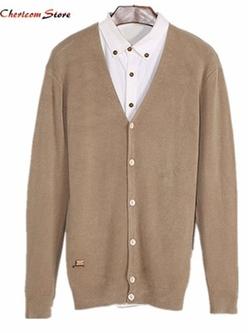 Chericom Store-Cardigan - Vintage Warm Cardigan Cashmere Sweater