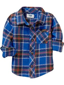 Old Navy - Plaid Twill Shirts