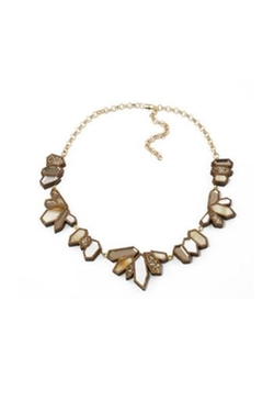 Wolf & Moon - Cluster Collar Necklace