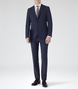 Silver - Modern Fit Suit