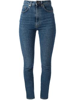 Saint Laurent  - High Waisted Denim Jeans