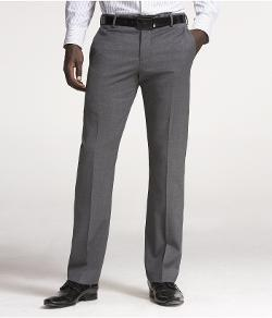 EXPRESS - GRAY STRETCH WOOL PHOTOGRAPHER SUIT PANT