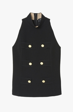 Derek Lam - Sleeveless Military Top