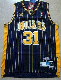 NBA Mens Store - Reggie Miller Jersey Swingman 31 Indiana Pacers
