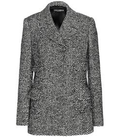 Dolce & Gabbana  - Tweed Wool Blend Blazer