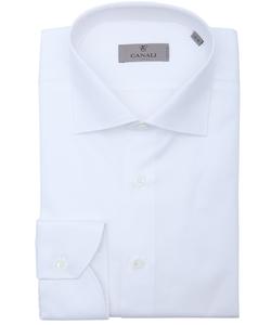 Canali - Cotton Spread Collar Dress Shirt