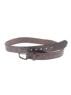 Genuine Leather - Western Leather Belt