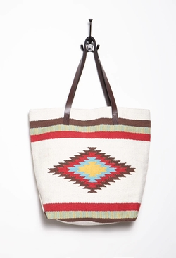 Forever 21 - Southwestern-Patterned Tote Bag