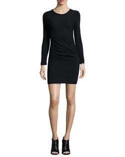 Iro - Isabeli Long-Sleeve Mini Dress
