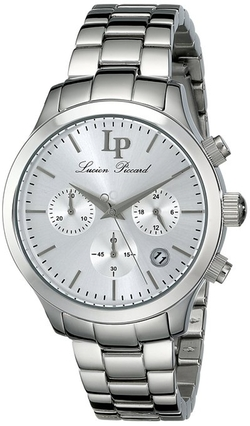 Lucien Piccard - Analog Display Japanese Quartz Silver Watch