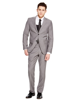 DKNY - Classic Two Button Notch Lapel Suit