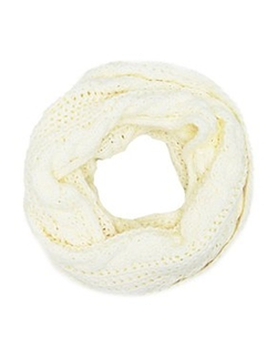 Charlotte Russe - Cable Knit Infinity Scarf
