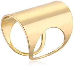 "Jules Smith - ""Farrow"" Yellow Gold Ring"