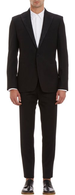 Ann Demeulemeester   - Two-Button Tuxedo Suit
