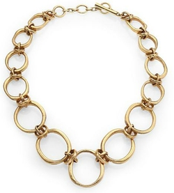 Vaubel - Large Irregular Oval Link Necklace