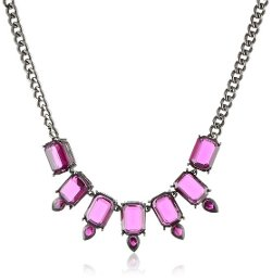 Jessica Simpson  - Amethyst Necklace