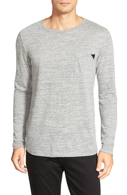 Hugo - Regular Fit Long Sleeve Crewneck T-Shirt