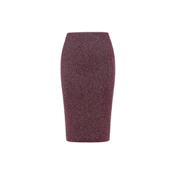 Essentiel Antwerp - Shiny Stretch Pencil Skirt