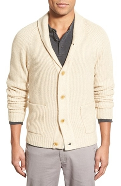 James Perse - Shawl Collar Button Cardigan