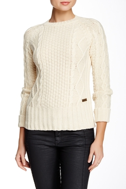 Barbour - Dolwen Wool Blend Crew Neck Sweater