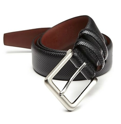 Saks Fifth Avenue Collection  - Textured Leather Belt