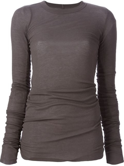 Rick Owens - Round Neck T-Shirt