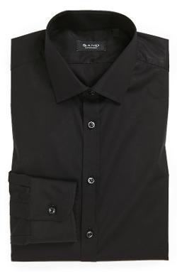 Sand - Trim Fit Dress Shirt
