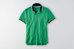 AEO American Eagle Outfitters - Tipped Polo Shirt