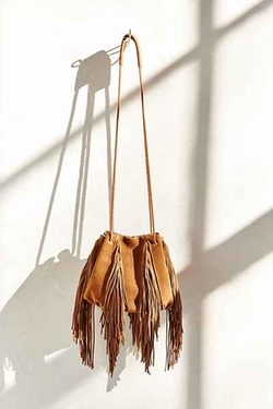 Ecote  - Fringe Bucket Bag