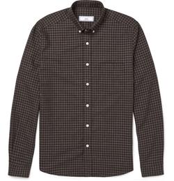 Ami - Checked Cotton Shirt