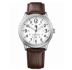 Tommy Hilfiger - Table Leather Strap Watch