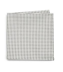Armani Collezioni  - Polka Dot Print Silk Pocket Square