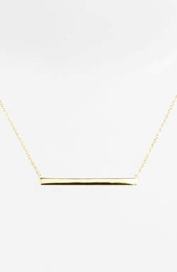Argento Vivo - Boxed Bar Pendant Necklace